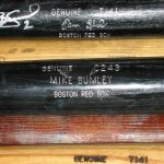Game-used Boston Red Sox bats