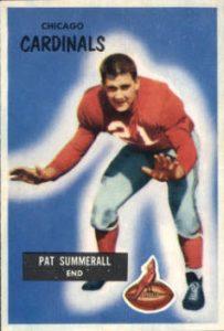 1955 Bowman Pat Summerall