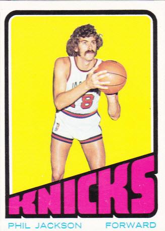 Phil Jackson 1972-73 rookie card