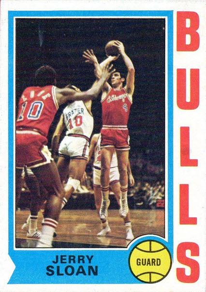 Jerry Sloan 1974-75 Topps