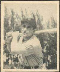 Yogi Berra rookie card