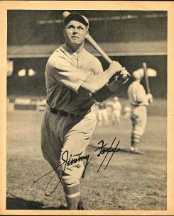 Jimmie Foxx 1934 Butterfinger
