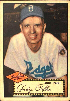 Andy Pafko 1952 Topps