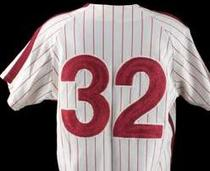 Steve Carton Phillies jersey