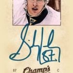 Champ's Sidney Crosby autograph card