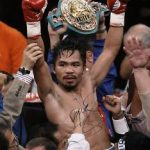 Manny Pacquiao signed photo