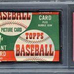 Topps baseball pack 1952 1-cent