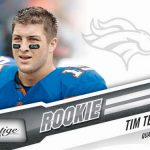 Tebow rookie card