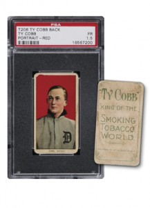T206 Ty Cobb with Cobb Tobacco advertising back