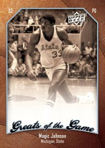 Upper Deck Greats of the Game Magic Johnson
