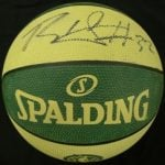 Blake Griffin signed recycled basketball