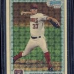 2010 Bowman Chrome Superfractor Strasburg