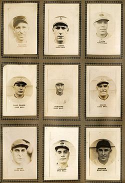 Cuban baseball card set