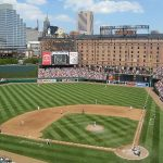 Camden Yards, home of the Orioles