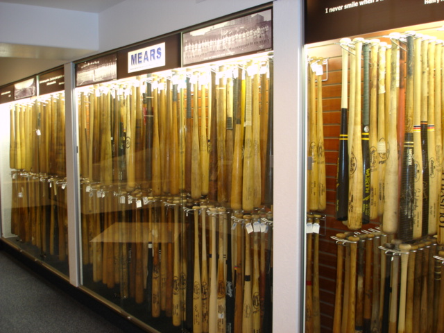 Part of MEARS game used bat inventory