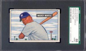 1951 Bowman Mickey Mantle SGC 88