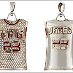 LeBron James pendant