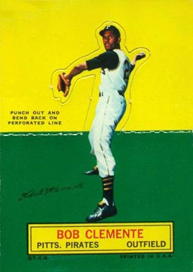 1964 Topps Roberto Clemente stand-up