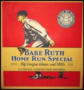 Babe Ruth glove box