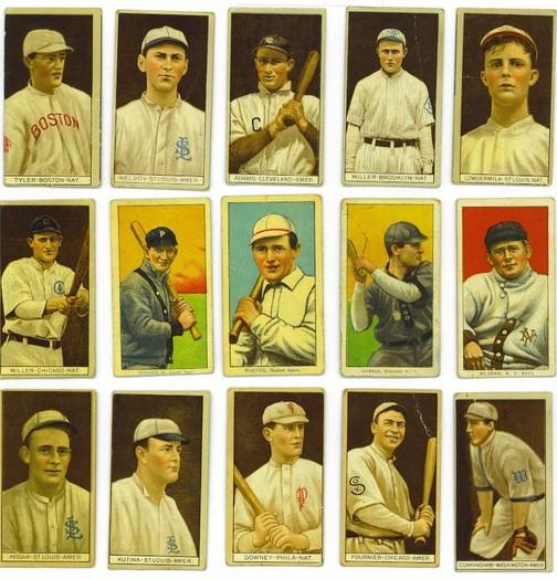 Vintage baseball card find