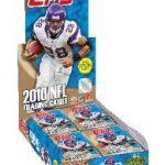 2010 Topps football box