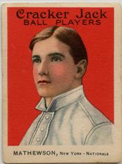 1915 Cracker Jack Christy Mathewson