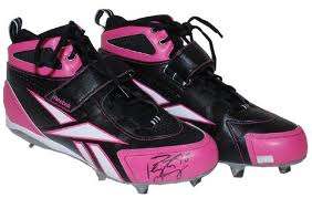 Peyton Manning signed cleats