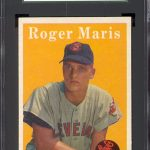 Roger Maris 1958 Topps rookie card