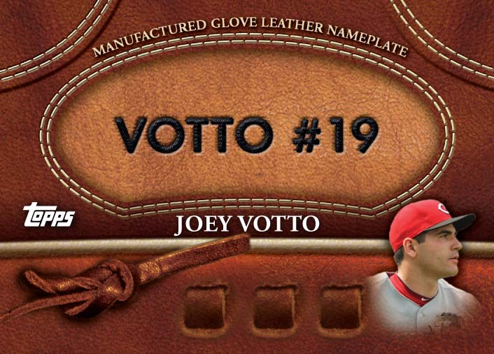 2011 Topps Glove Leather Joey Votto