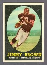 1958 Topps Jimmy Brown
