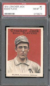 1914 Cracker Jack Eddie Plank