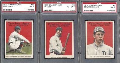 1914 Cracker Jack cards