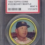 1964 Topps Mantle coin