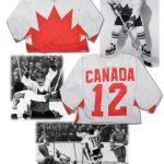 Cournoyer 1972 Summit Series jersey