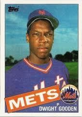 1985 Topps Dwight Gooden