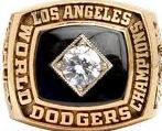 Sample 1981 Dodgers World Series ring