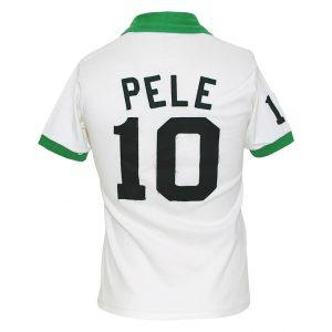 Game worn Pele jersey