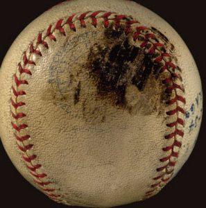 Ruth 702nd home run ball