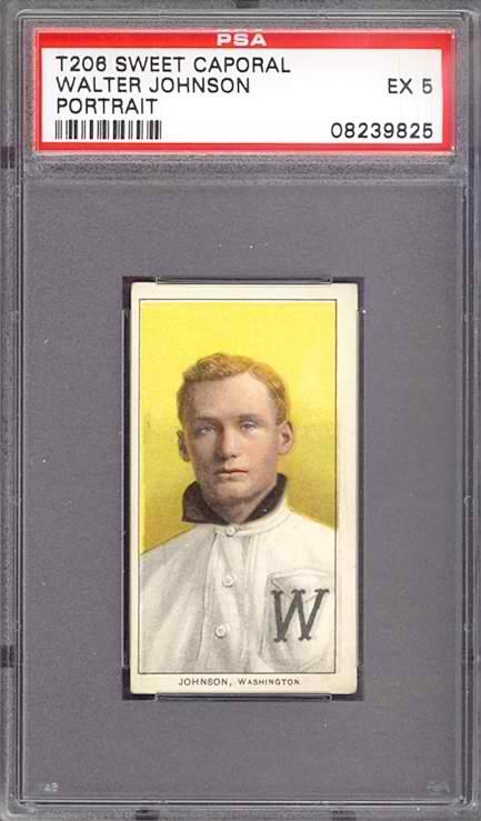 T206 Walter Johnson