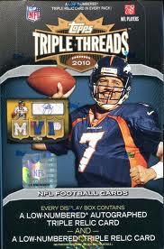 2010 Topps Triple Threads Box