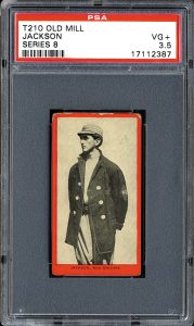 1910 Joe Jackson Old Mill Tobacco card