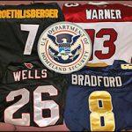 Jerseys seized by ICE