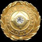 1919 Cincinnati Reds World Series Championship Pin