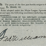 Ted Williams purchase agreement