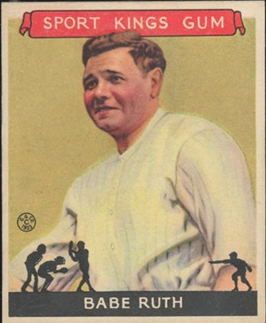 1933 Sport Kings Babe Ruth