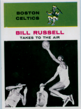 1961-62 Fleer Bill Russell In Action