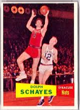 1957-58 Topps Dolph Schayes