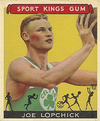 "1933 Sport Kings Joe Lapchick ""Lopchick"""