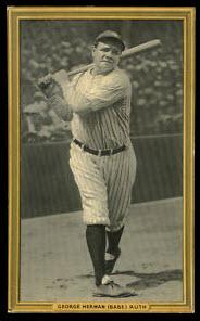 1934 R309 Goudey Babe Ruth premium