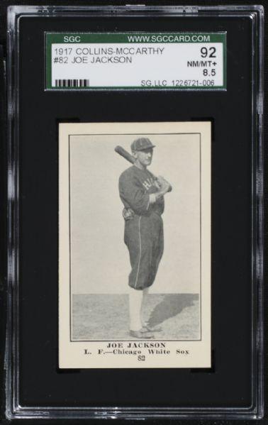 1917 Collins-McCarthy Joe Jackson